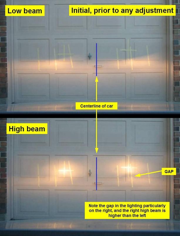 How To Adjust Headlights >> Vwvortex Com Headlight Adjustment Aiming